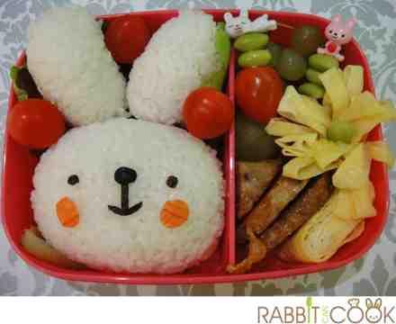 bunny bento
