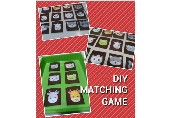 diy easy matching game